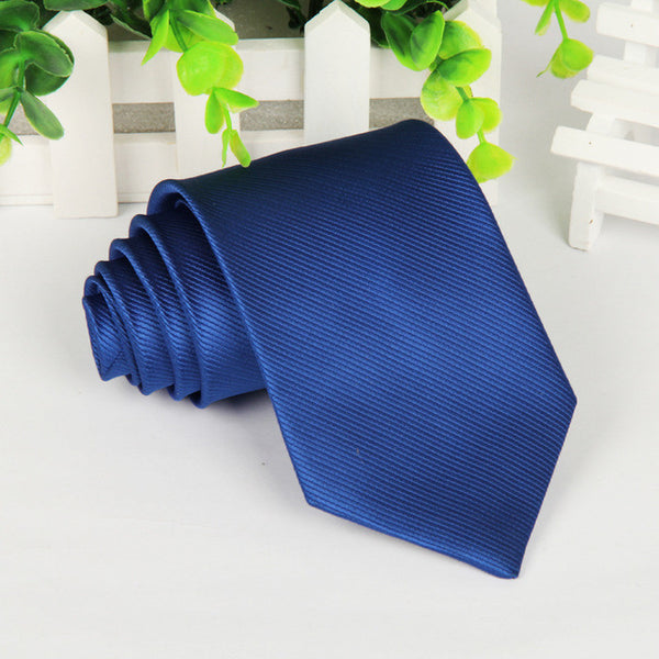 Polyester neck tie for men