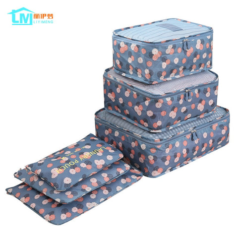 6Pcs/Set Travel Storage Bag