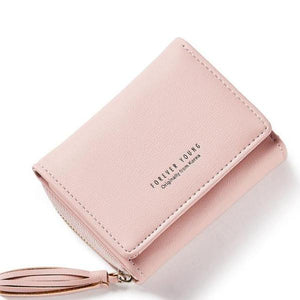 Small Clutch  Woman's  PU Leather  Wallet