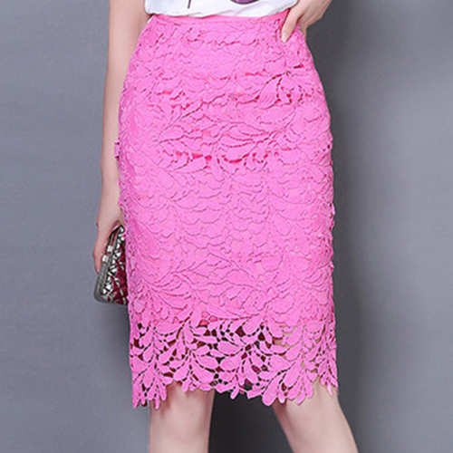 Women's High Waisted Pencil Skirt
