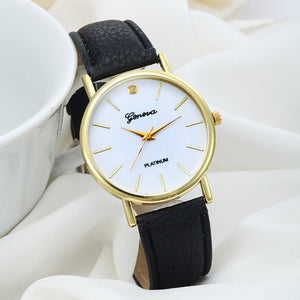 Ladies sports quartz wristwatch