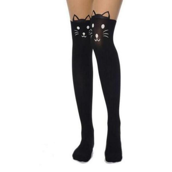 New Sexy  Cute Cat  long Stockings