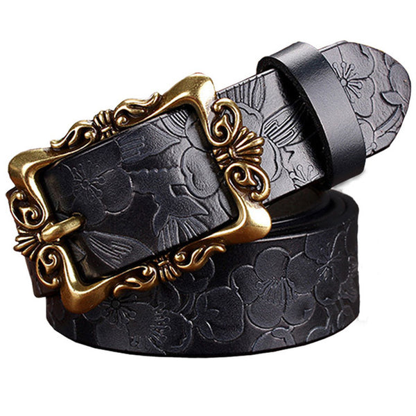 Genuine Womens Leather  Belt