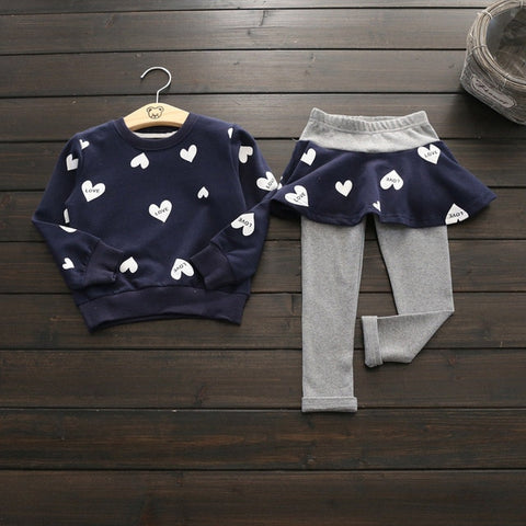Kid's Heart Clothing Set