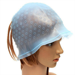Reusable Hair Colouring Highlighting Dye Cap