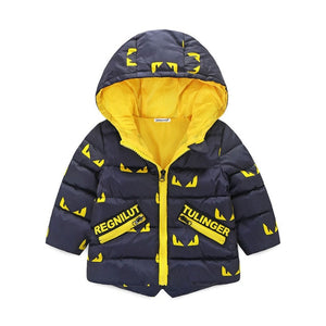 Baby Boy/Girl  Hooded Winter Jacket