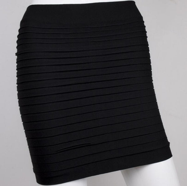 2018 Summer Ladies  High Waisted  pleated Skirt