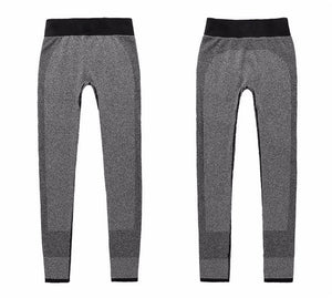 Spandex Slim Elastic Comfortable High Waist  Workout Trousers