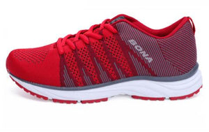 Woman's fashionable jogging sneakers