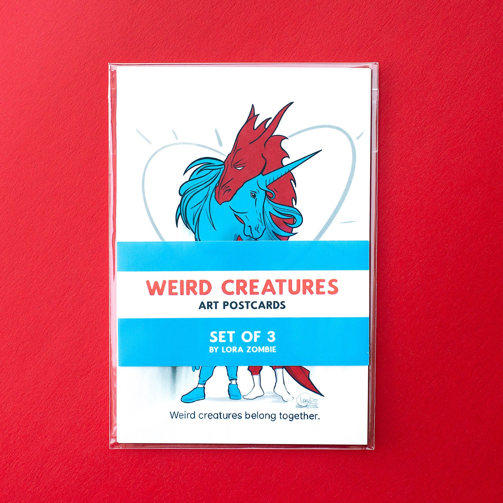 Weird Creatures Art Cards
