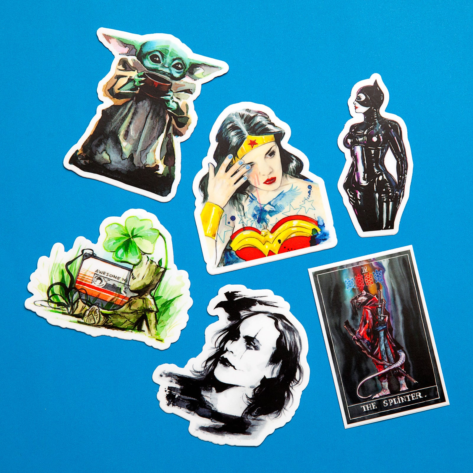 Unmentionables Sticker Pack