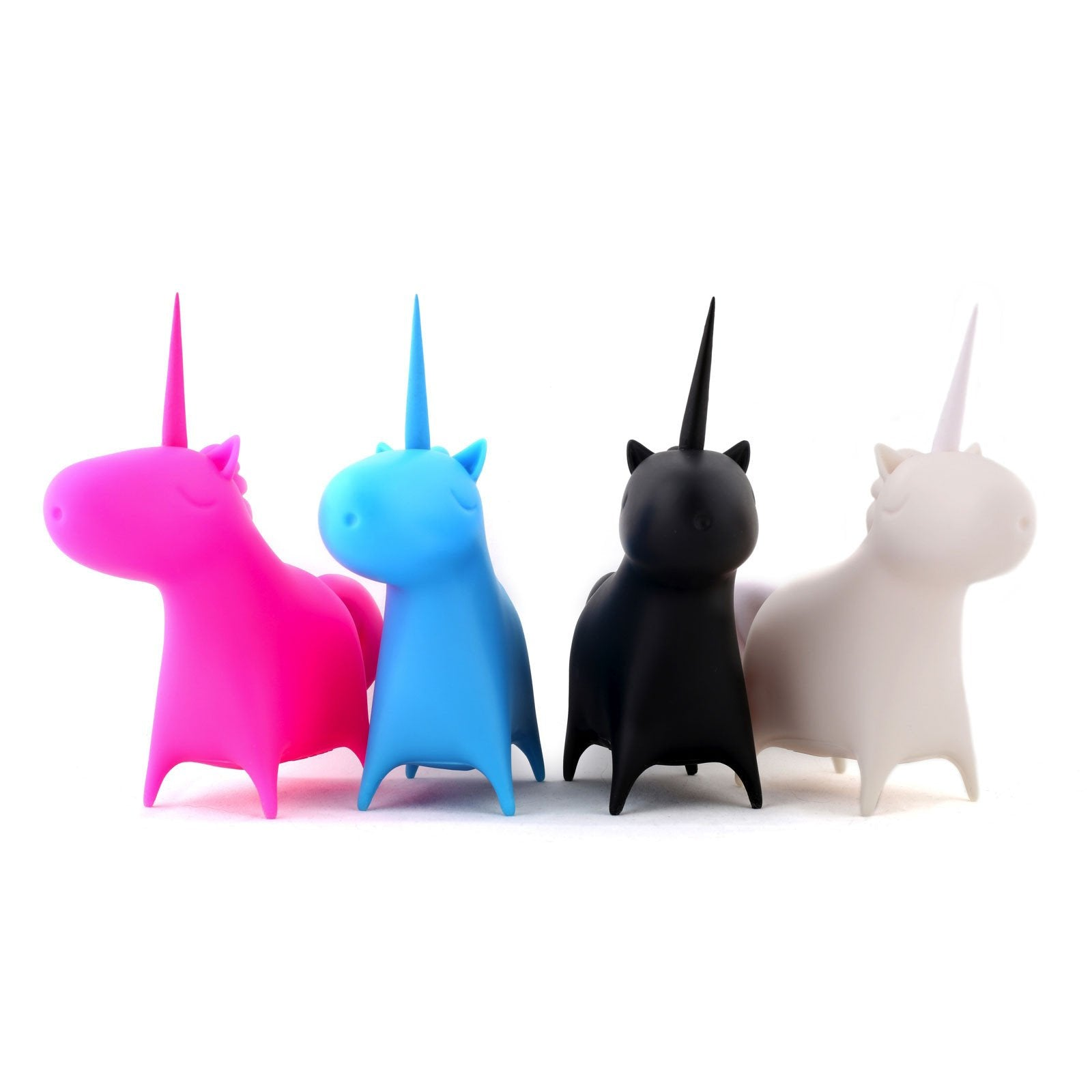 Unicorn Kiss Vinyl Toy Set of 4