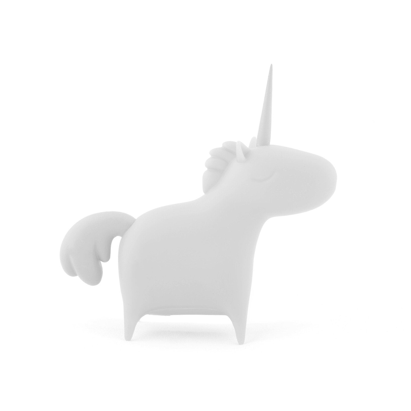 Unicorn Kiss Vinyl Toy White