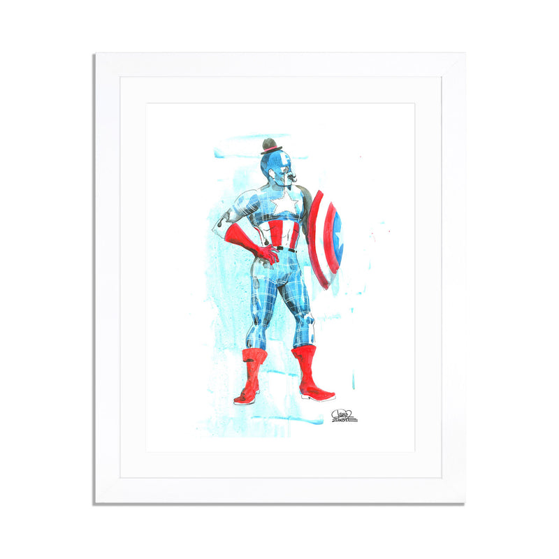 Mr Captain America