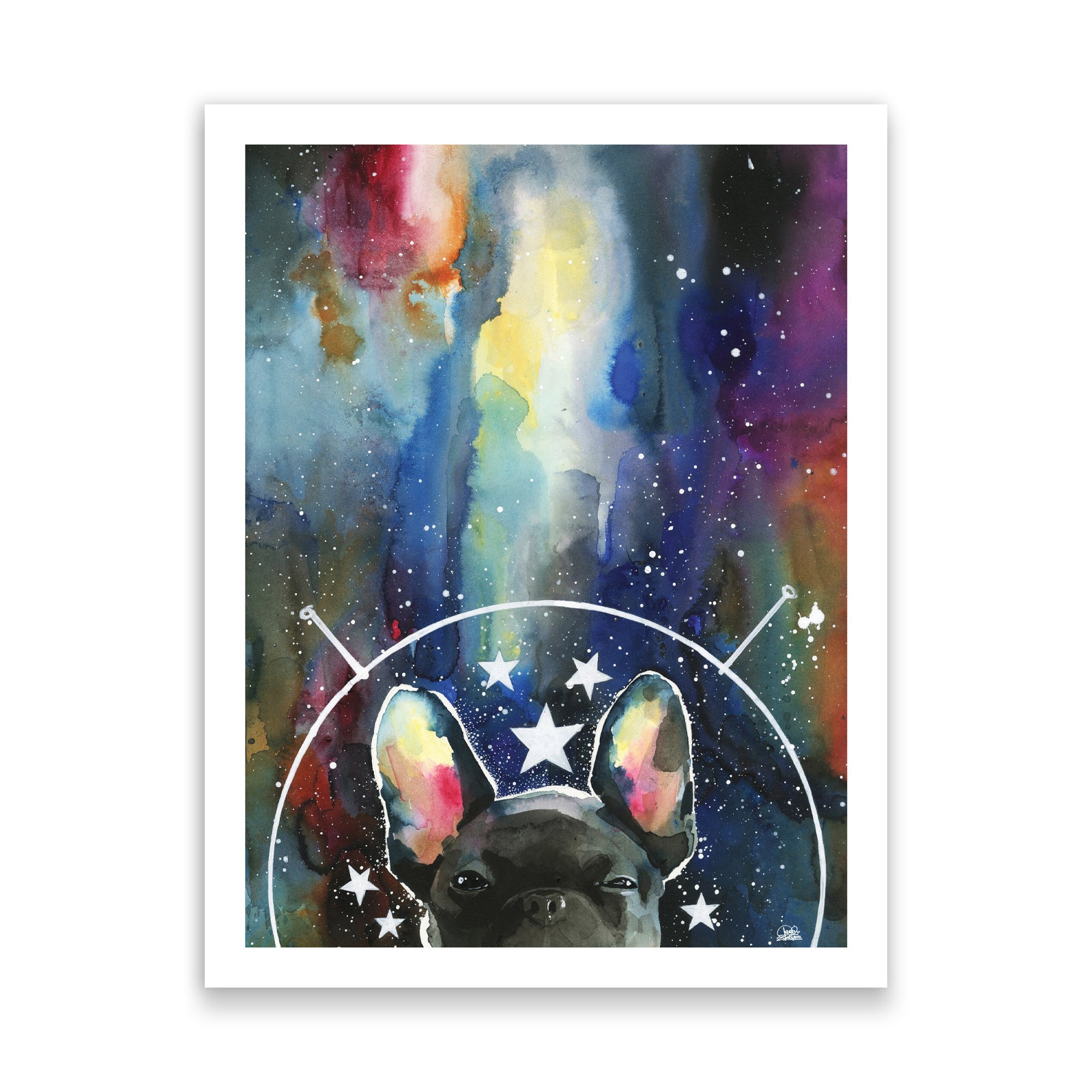 Space Frenchie