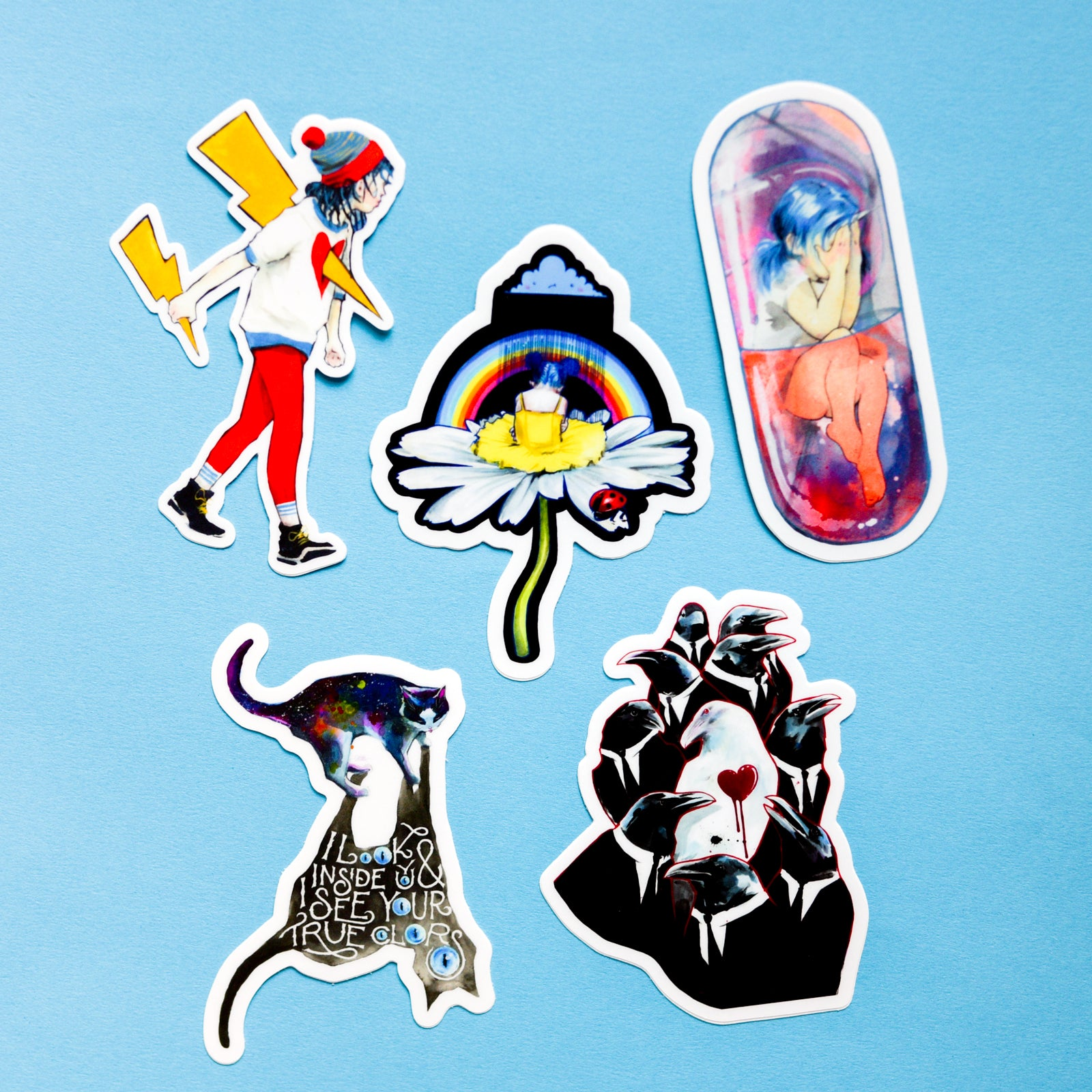 Overthinker Sticker Pack