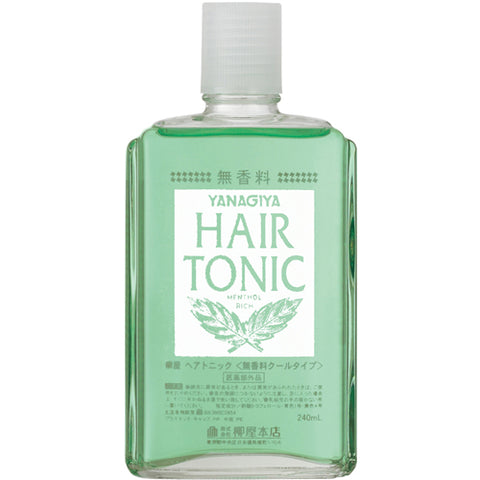 YANAGIYA Hair Tonic <Fragrance-free cool type>