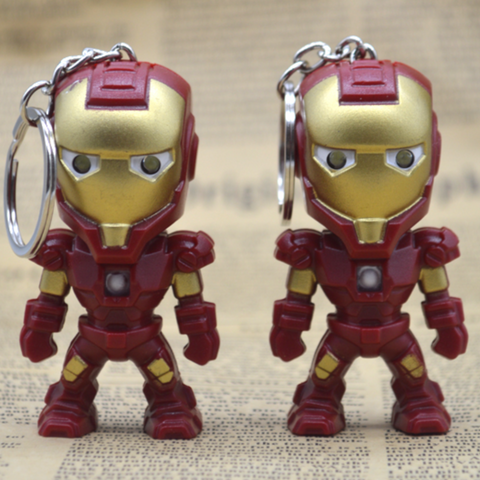 Marvel Hero LED Flashlight key chain