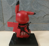 Q figure of Dead pool Pikachu