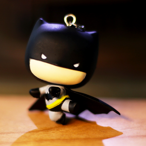 Q Justice League Figure Keychain