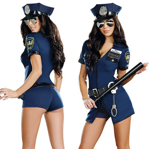 Police Officer Cosplay Costume