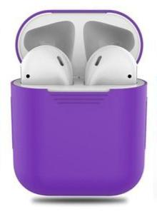 AirPods Silicone hoesje - Paars