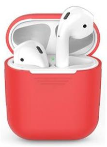AirPods Silicone hoesje - Rood