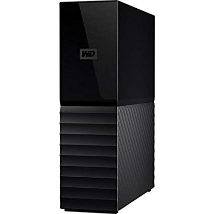 Western Digital My Book 8TB USB 3.0 Zwart