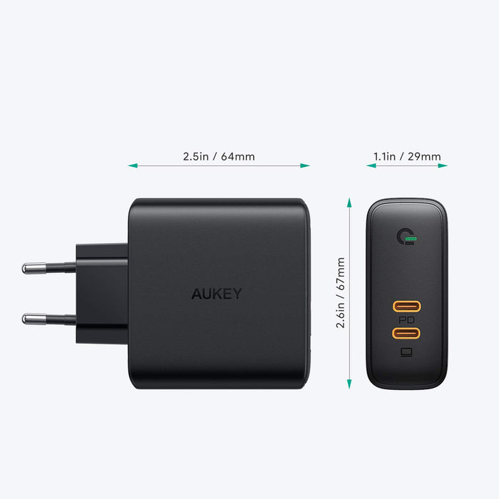 Aukey USB-C oplader 60 Watt met Power Delivery