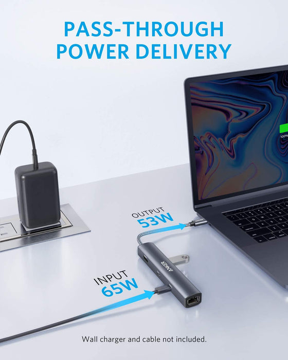Anker USB-C Ethernet Hub, adapter