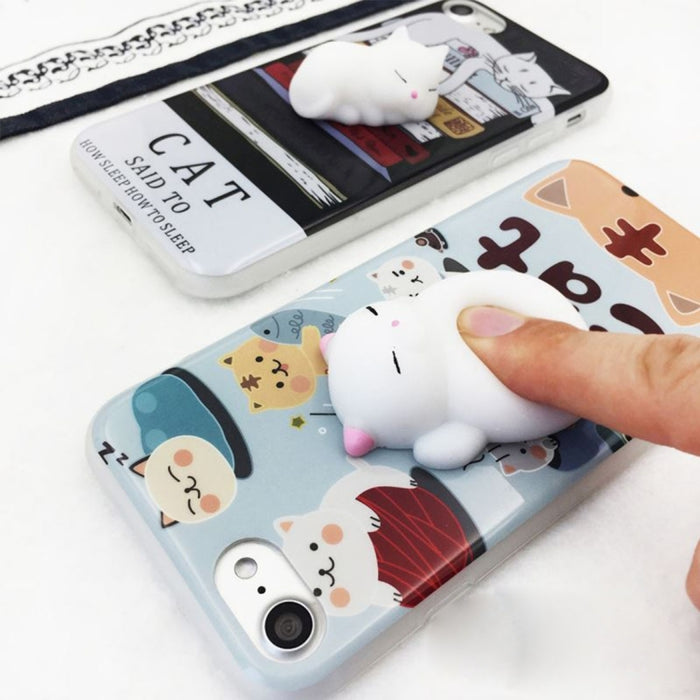 3D Lovely Cat, iPhone 7 Cover