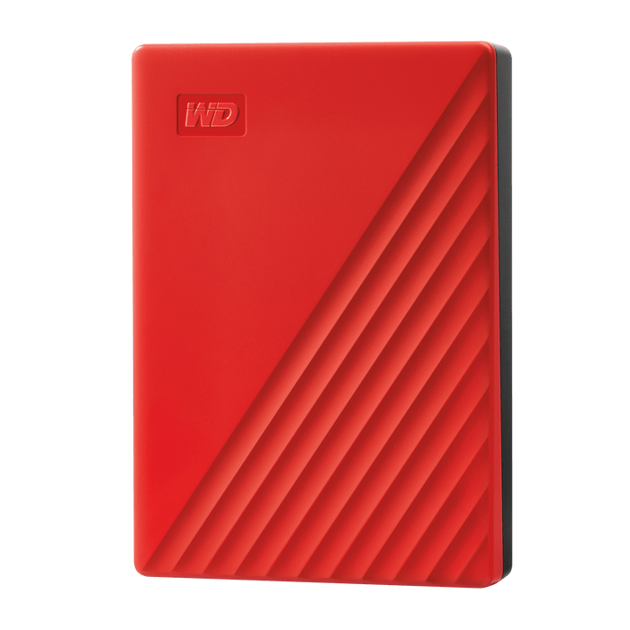 Western Digital My Passport 4TB Rood