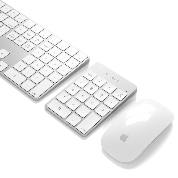 Satechi Slim wireless keypad - Zilver