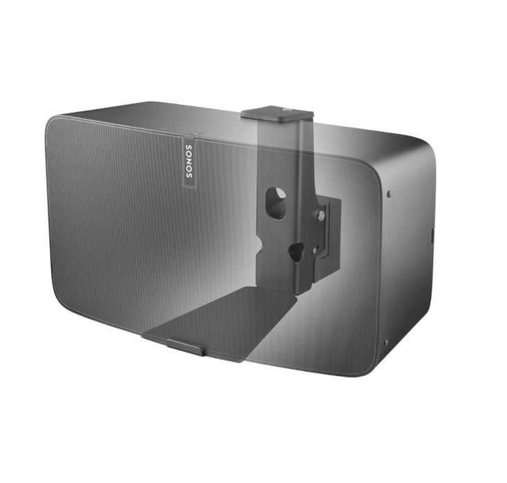 Wall Bracket turnable for Sonos Play:5 Zwart