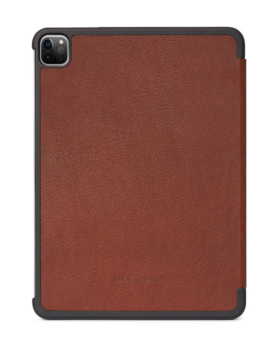 Decoded Leather Slim Cover voor 11-inch iPad Pro (2020) Bruin