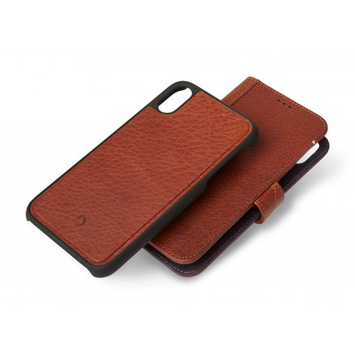 Decoded iPhone Xs Detach Wallet (brown)