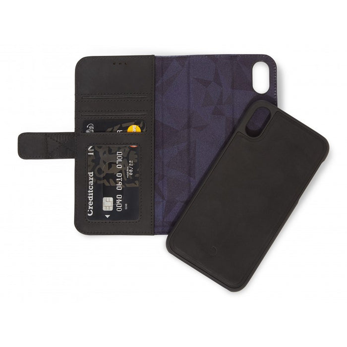 Decoded iPhone Xs Detach Wallet (black)