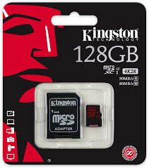 Kingston MicroSDXC U3 128GB incl adapter