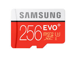 Samsung MicroSDXC U3 256GB incl adapter