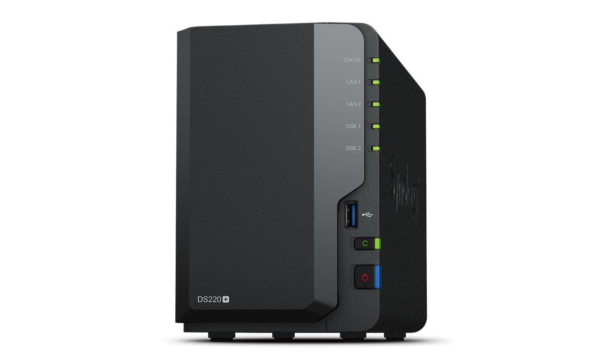 Synology Disk Station DS220+ 2-bay/dual core