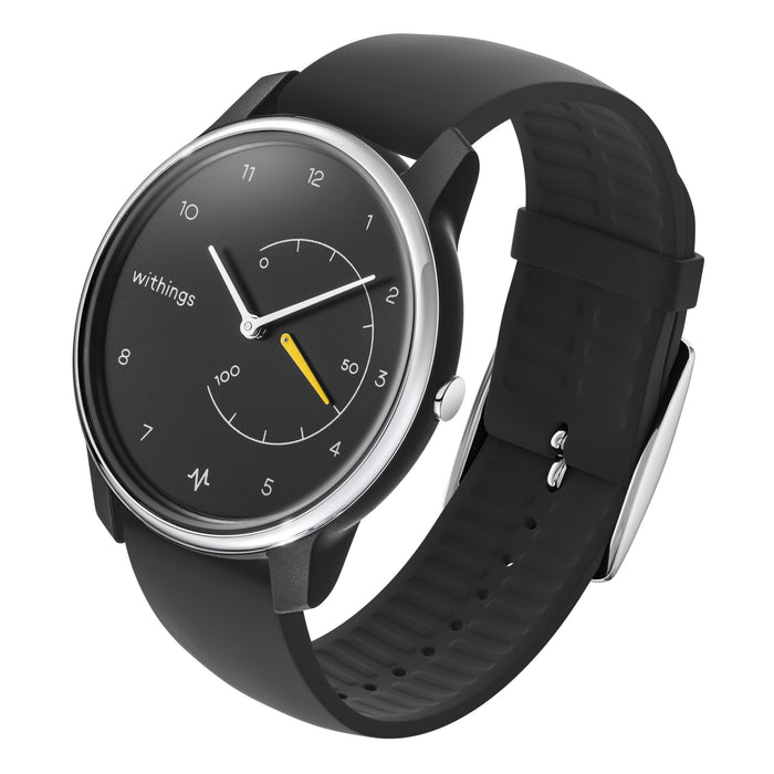 Withings Move ECG Black & Yellow