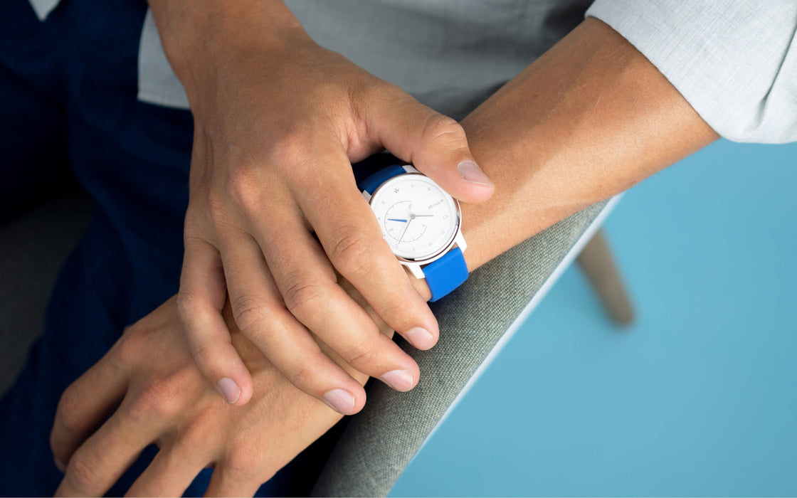 Withings Move ECG White & Blue