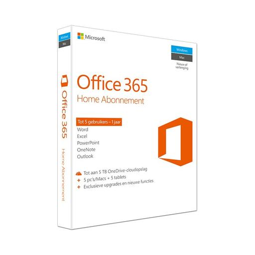 MS Office 365 Home, 1 jaar subscription UK