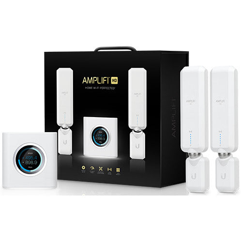 Ubiquiti AmpliFi HD WiFi Router + 2 Mesh Points