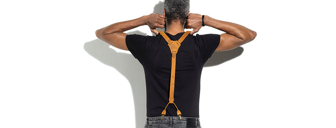 Suspenders: functionality and trend throughout history