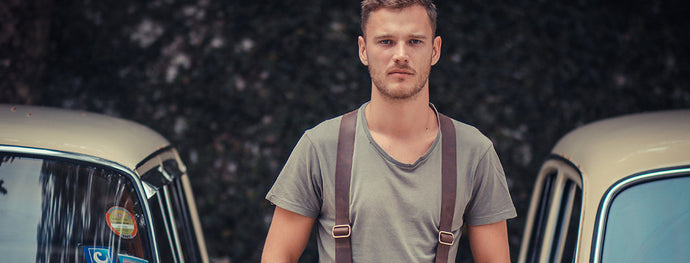 5 ways to wear Leather Suspenders