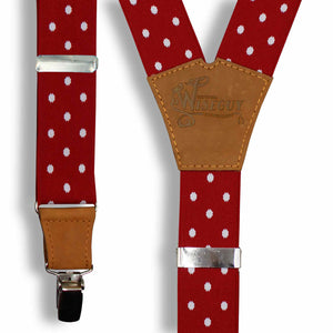 Statement Polka Dot Red Wide No. E433