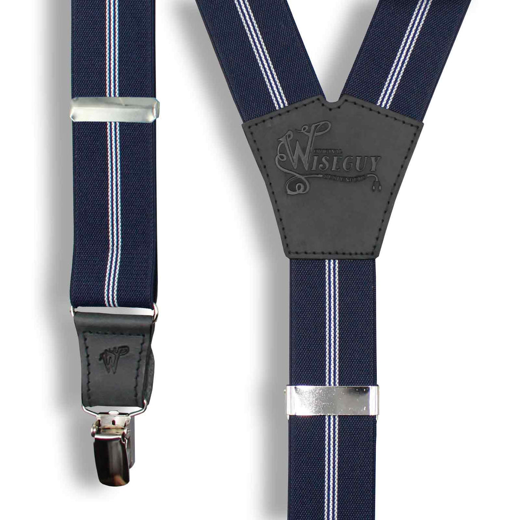 Dapper The Dealmaker Navy Blue Wide No. E613