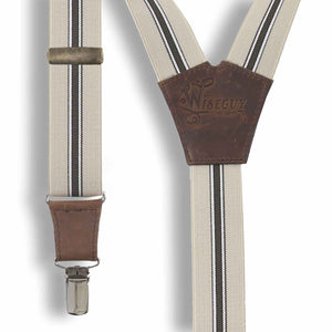 The Lawyer Suspenders wide straps (1.36 inch/3.5 cm) - Wiseguy Suspenders