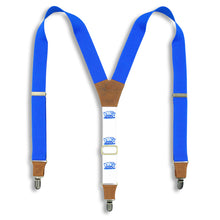 Load image into Gallery viewer, Reuzel Quiff Suspender on Camel wide straps (1.36 inch / 3.5 cm) - Wiseguy Suspenders
